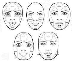 contouring for diffe face shapes google search