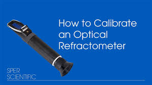 How to Calibrate an Optical Refractometer - YouTube
