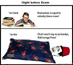 Funny Picture Night Before Exam | Pak101.com