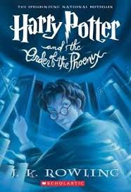 Harry Potter book 7, order of the phoenix, jk rowling, books