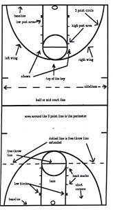 lady otter basketball   frontpagecourt terms diagram