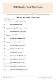 Free Printable Worksheets Consumer Math - Worksheets for Kids ...Practice Consumer Math Exercises