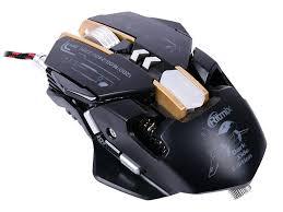 <b>Мышь</b> игровая <b>RITMIX ROM</b>-<b>380 SC</b>, металлкический корпус ...