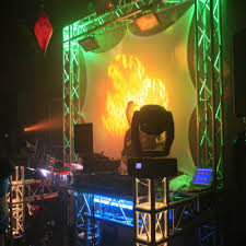 timbale show man dj services package with sound lights set affordable lighting set