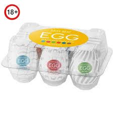 Купить набор <b>мастурбаторов</b> в форме <b>яйца</b> tenga eggs set 3 new ...