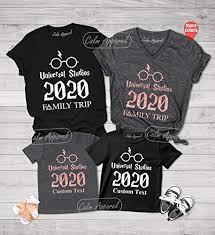 Family Matching <b>Universal</b> Studios <b>Shirt</b>, Family Vacation <b>2019 Tee</b>