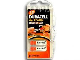 <b>Аксессуар Duracell ActiveAir Nugget</b> Box ZA13 DA13/6BL