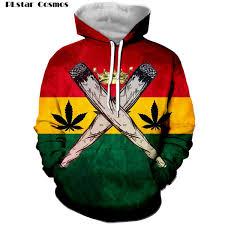 2019 <b>PLstar Cosmos New Fashion</b> 3d Hoodies Reggae Originator ...