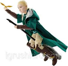 <b>Кукла Драко Малфой</b> игрок в квиддич (<b>Harry</b> Potter Quidditch ...