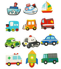 Fridge Magnets for Toddlers <b>Cute</b> Animals <b>Cartoon Cars</b> Magnetic ...