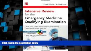 big deals intensive review for the emergency medicine qualifying 00 18