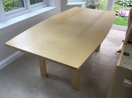 7ft dining table: skovby dining table and chairs   pic uk