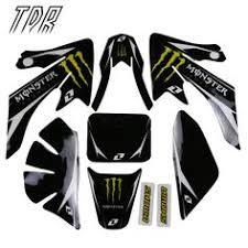 <b>TDR Motors</b> Decals Sticker Graphics CRF50 Dirt Pit Bike Style Parts ...