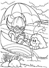 Small Picture Rainbow brite Coloring Pages Online Rainbow Brite Playing In The
