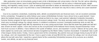 essays scholarships