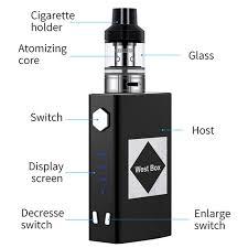<b>Electric Cigarette V6 Flash</b> Mod Kit 100W1800mah Build in Battery ...