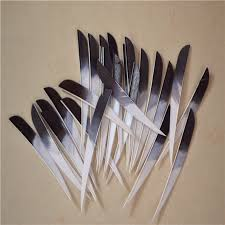"""<b>50pcs</b>/<b>lots</b> 3 4 <b>5</b>"""" Right Wing <b>Shield Hunting</b> Arrow Feather Real ..."""