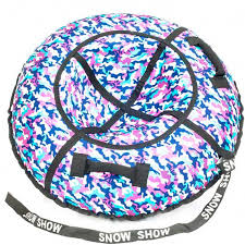 <b>Тюбинг Snow Show СТАНДАРТ</b> - Хаки розовый