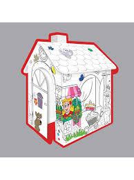 Игровой <b>картонный домик</b> -<b>раскраска Mochtoys</b> 5223630 в ...