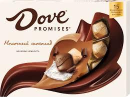 <b>Dove Promises</b> молочный шоколад, 120 г — купить в интернет ...