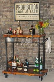 <b>Industrial Bar</b> Cart/Utility Cart <b>Industrial Bar</b> Cart/Utility Cart