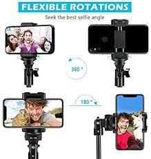 """Selfie Stick <b>Tripod</b>, UBeesize 51"""" Extendable <b>Tripod</b> Stand with ..."""