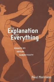 the explanation for everything essays on sexual subjectivity the explanation for everything essays on sexual subjectivity sexual cultures paul morrison 9780814756744 com books