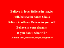 Image result for do you believe in santa