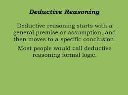 deductive and inductive reasoning ppt by denise gill created using deductive and inductive reasoning ppt by denise gill created using kirszner laurie g