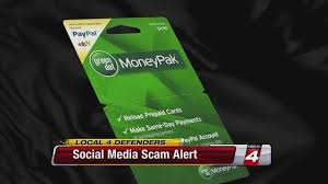 social media scam alert green dot money pak