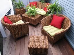 garden furniture patio uamp: ikayaa us stock pcs wicker rattan outdoor dinning table chair set cushioned garden patio furniture set