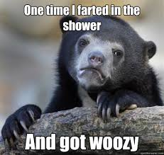 Confession Bear Eating memes | quickmeme via Relatably.com