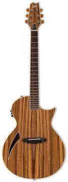 ESP Ltd <b>Tl</b>-6z Natural Nat Acoustic-<b>electric Guitar</b> Thinline ...