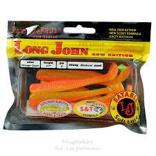 Силиконовая <b>приманка Lucky John Pro</b> Series Long John 4.2 ...