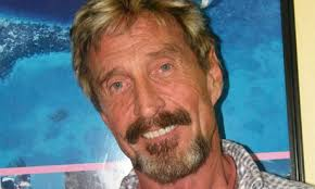 The man behind this reassuring piece of technology is rather less reassuring and certainly not dull. John McAfee, a multi-millionaire dotcom guru, ... - John-McAfee---Hes-clearly-008