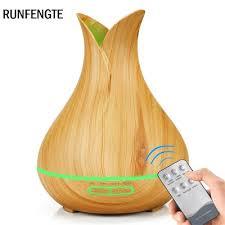<b>RUNFENGTE</b> Remote Control Vase <b>Aroma</b> Diffuser Essential Oil Air ...