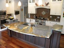 Granite Kitchen Counter Top Waterfall Countertop Granite Countertops Marble Countertops
