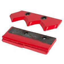 <b>Нож</b> сменный для шнека <b>двухзаходный</b> для грунта <b>DDE</b> (200 мм ...