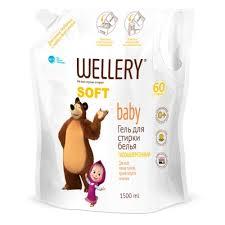 Гипоаллергенный <b>гель</b> WELLERY Soft baby Маша и Медведь для ...