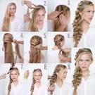 Прическа на каждый день на длинные волосы пошагово фото