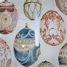 decor linen fabric multiuse:  kravet couture lee jofa faberge eggs linen fabric multi