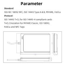 NFC считыватель <b>USB</b> ACR122U бесконтактная смарт-<b>карта</b> ic...