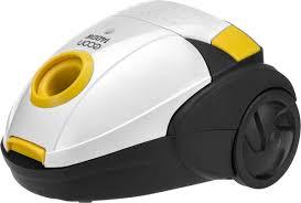 Бытовой <b>пылесос ECON ECO-1401VB</b>, белый, желтый — купить ...