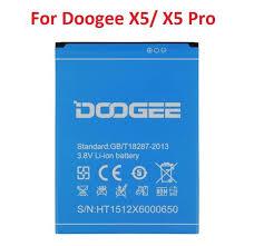 New Doogee X5 X5 Pro Battery 3.8V 2400mAh Li-ion Backup ...