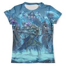 Футболка с полной запечаткой (мужская) <b>Knights Of</b> The Frozen ...