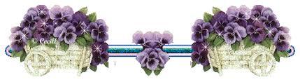 Resultado de imagem para gifs de barras com flores