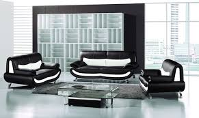 gorgeous black white leather sofa couch loveseat chair living room set living image of in property 2016 black leather living room furniture black and white furniture