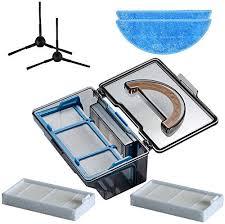 Vaorwne Dust Box Side Brush Hepa Filter Mop Cloth ... - Amazon.com