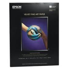 <b>Epson</b> Velvet <b>Fine Art Paper</b> - 8.5 x 11 - 20 Sheets | London Drugs