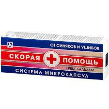 Купить Скорая помощь от синяков и ушибов крем-<b>гель</b> 75мл от ...